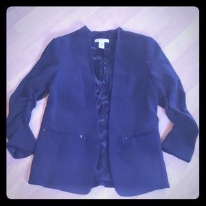 H&M 3/4 Sleeve Blazer
